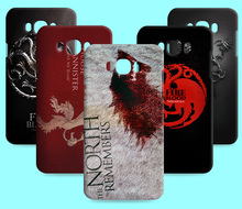 Ice and Fire Cover Relief Shell For Samsung Galaxy J5 2016 Cool Game of Thrones Phone Cases For Samsung Galaxy J7 2016(China)