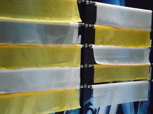 free shipping ! ! ! Yellow 165T/420mesh-31Y-165CM-2mts for printing/graphic printing mesh with high quality(China)
