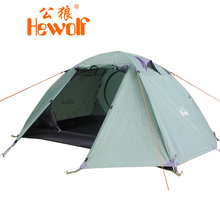 4 Season 2 Person Camping Tent Double-layer Waterproof Windproof Outdoor Hiking Camping Tent Winter tent(China)
