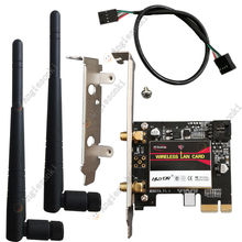 BCM94352Z 802.11AC 867Mbps WiFi&Bluetooth 4.0 PC Desktop WLAN modul Card adapter &3DBI antenna&Bracket Win7/8/10