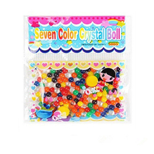 20 Bags Magic Plant Growing Balls Crystal Mud Soil Mix Colors Water Beads Wedding Home Decor(China)