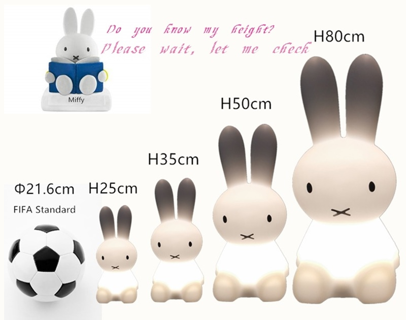 miffy rabbit light size 800