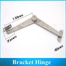 Stainless-Fold strut / folding door strut / Furniture Hinge / activities supporting 2PCS