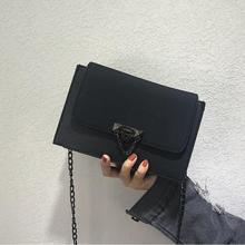 Buy Fashion Small women messenger bags Girls Flap PU leather chain Black crossbody Bag women 2018 Ladies bags free for $22.79 in AliExpress store