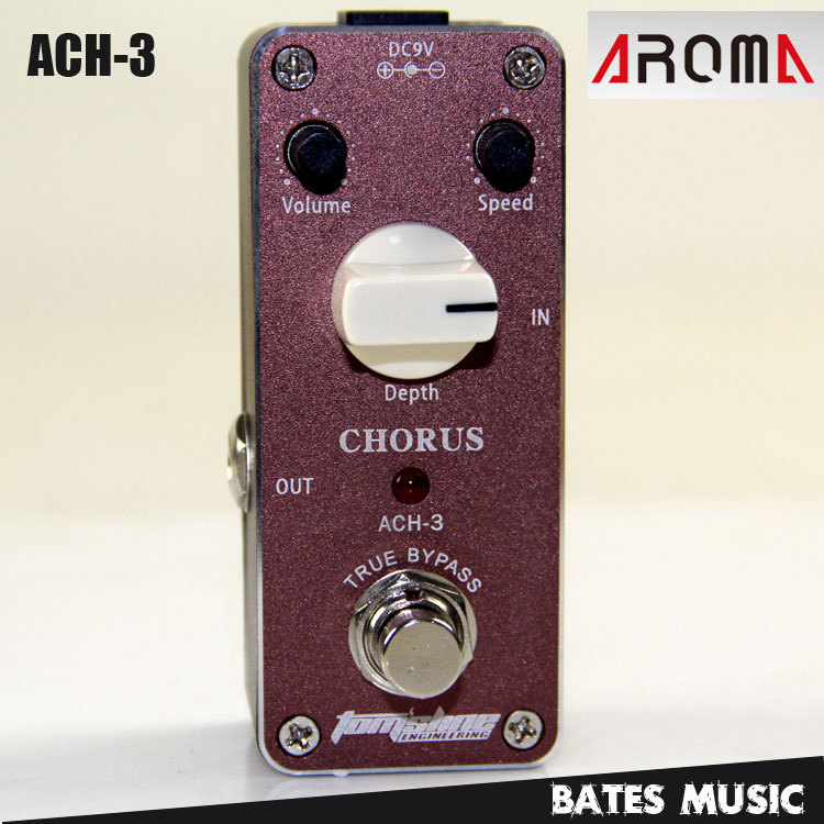 MINI Effect Pedal/Aroma ACH-3 Chorus AC/DC Adapter Jack  True bypass<br>
