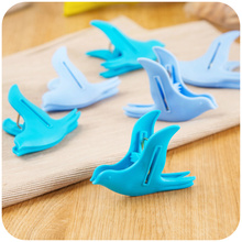 6pcs Bird Shaped Bag Clips Food Kitchen Sealing Clip Clamp Snack Fresh Keeper Sealer Kitchen Cooking Tool Stoarge Reuseble New