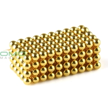 500pcs Super Magnet Golden N42 Grade Diameter 3mm Neodymium Magnet Rare Earth Strong Power Magnets For Industry OMO Magnetics(China)