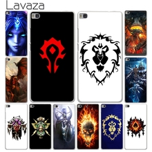 Lavaza World of Warcraft wow logo Hard White Cover Case for Huawei P10 P9 P8 Lite Plus P7 P6 & Honor 6 7 8 Lite 4C 4X G7(China)