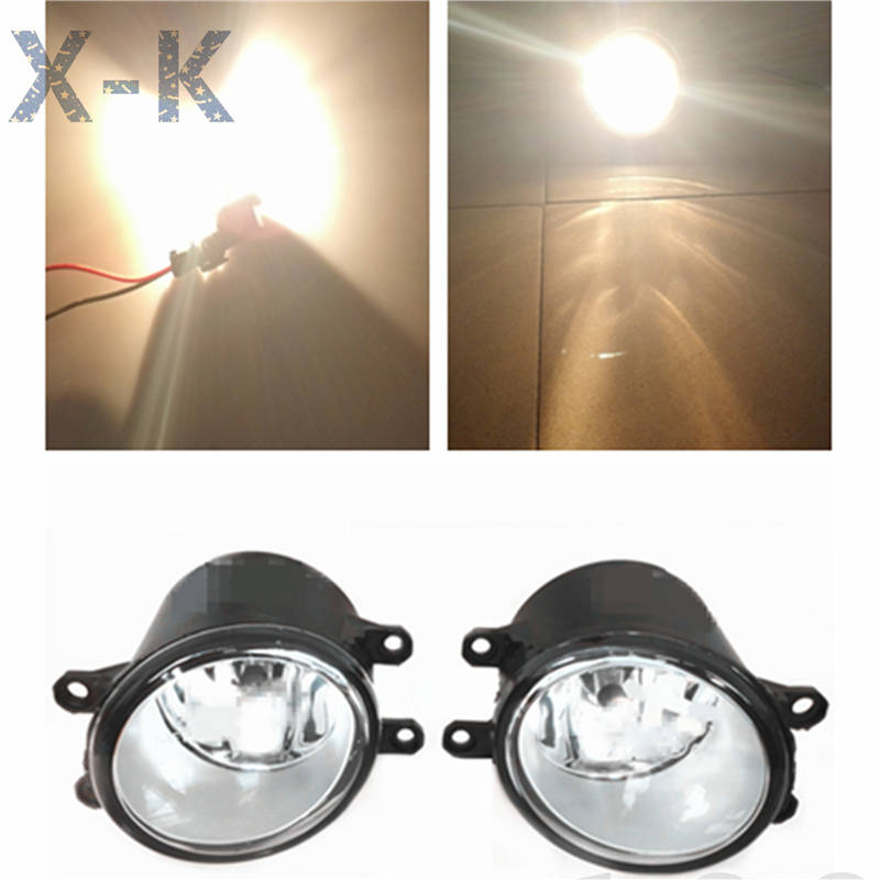 for TOYOTA COROLLA Saloon E12J E12T 2006-2013 high brightness Front bumper halogen fog lights Car styling<br><br>Aliexpress