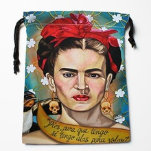 Best Frida Kahlo Drawstring Bags Custom Storage Printed Receive Bag Bags Size 18X22cm Storage Bags