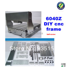 6040Z CNC Router Frame , Engraving Machine Frame  Lathe Bed With Ball Screw