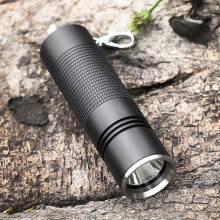K03 Portable Waterproof Mini LED Flashlight Pocket Light 3 Modes Bright light 300 Lumens LED Keychain Flashlight Torch Lanterna