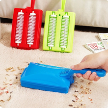 1 Pcs Creative Heads Handheld Carpet Brushes Table Sweeper Crumb Brushes Cleaner Roller Tool Home Cleaning Brushes Accessaries