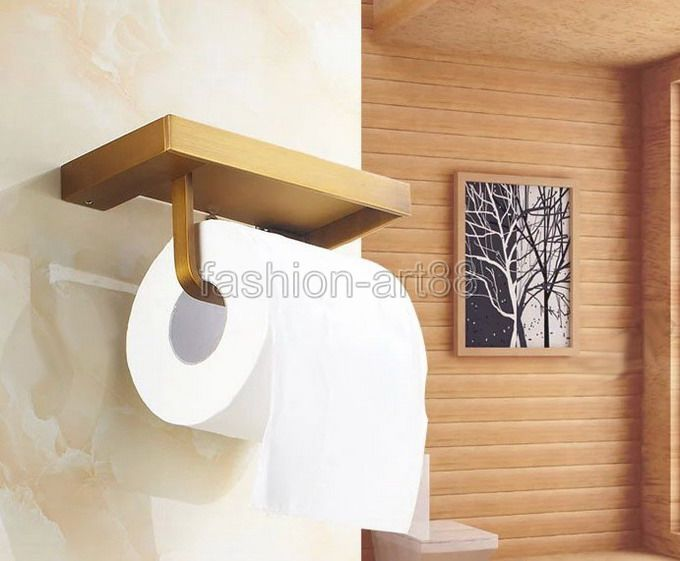 Bathroom Accessory Antique Brass Wall Mounted Bathroom Fitting Toilet Paper Roll Holder aba170<br><br>Aliexpress