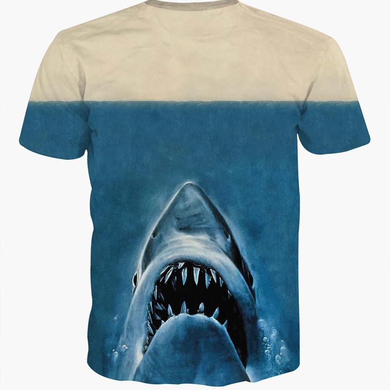 """Jaws vs. Deadpool"" Jaws Shark T-Shirt Men/Women 4"