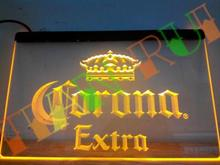 LE013- Corona Extra Beer Bar Pub Cafe   LED Neon Light Sign  home decor shop crafts
