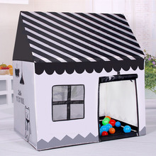 White And Black Children Play Baby House Ocean Ball Tents Toys Tents Children Outdoor Inside Kids Tents House Children's Tent