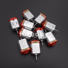 NEW 10 PCS Mini motors R130 motor Type 130 Hobby motor 8000 RPM  0.35-0.4A 3-6V 25* 15* 20mm*FD170X10