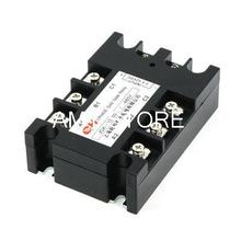 JGX-33100A 3.5-32VDC/480VAC 100A DC to AC 3 Phase SSR Solid State Relay w Indicator Light