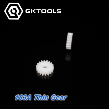 10000pcs, 183A Thin Spindle Gear,0.5 Modulus, 18Teeth, 2.95mm Mounting Hole, Plastic Gear, Toy DIY Accessories