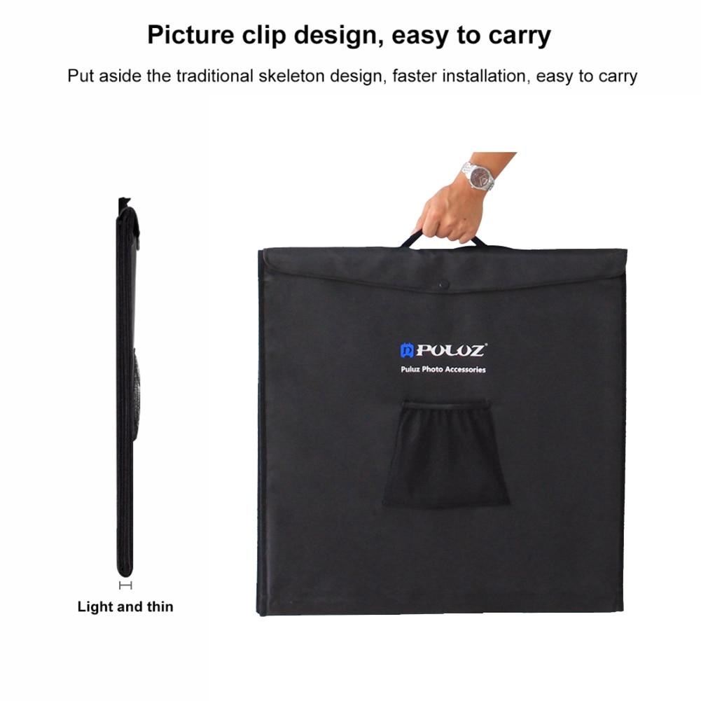 60x60cm 24 Portable Light Box Mini Photo Studio 60W Lighting Tent UK Plug