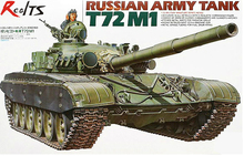 RealTS TAMIYA MODEL 35160 Russian Army T-72M1 Tank