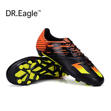 FG Football Boots Cleats indoor soccer shoes men sport football cleats boot Chuteiras futbol voetbalschoenen women Adult & Kids(China)