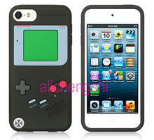 3D Game Boy Soft Silicone Rubber Skin Case Cover For Apple ipod Touch 6 6Th /  Touch 5 5Th Gen