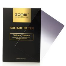 ZOMEI 150*100MM Pro Z series Square camera filter Graduated Neutral Density ND8(0.9) for Cokin Z and Lee 100mm filter holder(China)
