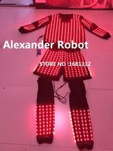 LED Costume /LED Clothing/Light suits/ LED Robot suits/ Kryoman robot/ ALexander robot(China)