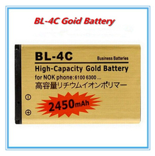 High capacity 2450mAh BL-4C Li-ion Replacement Battery For Nokia 2652 3108 6100 6170 6260 7270 6101 6102 Replacement Batteries