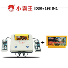 Classic Subor Game Machine 8BIT Classic Family Video Game Console D30+198 IN1 Game card FC Games Double Handles Operation jeux