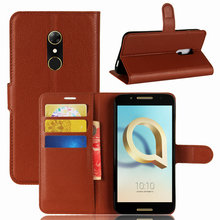 Buy High Flip Wallet Leather Case Bussness Card Slot Stand Cover Alcatel A7  (5.5 inch) Holder Protector Bag Phone Shell for $3.32 in AliExpress store