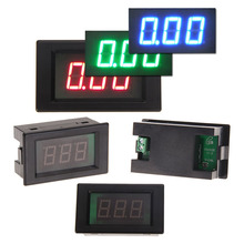 Red LCD AC 80-300V Volt Voltage Amp Panel Meter Voltmeter Ammeter 50A Digital Voltmeter