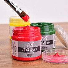 Sale 1 piece/lot New Candy Colors The Best Price Of 100ml Paint Tube Painting, Acrylic Paint, Beginners Speci TRQ166