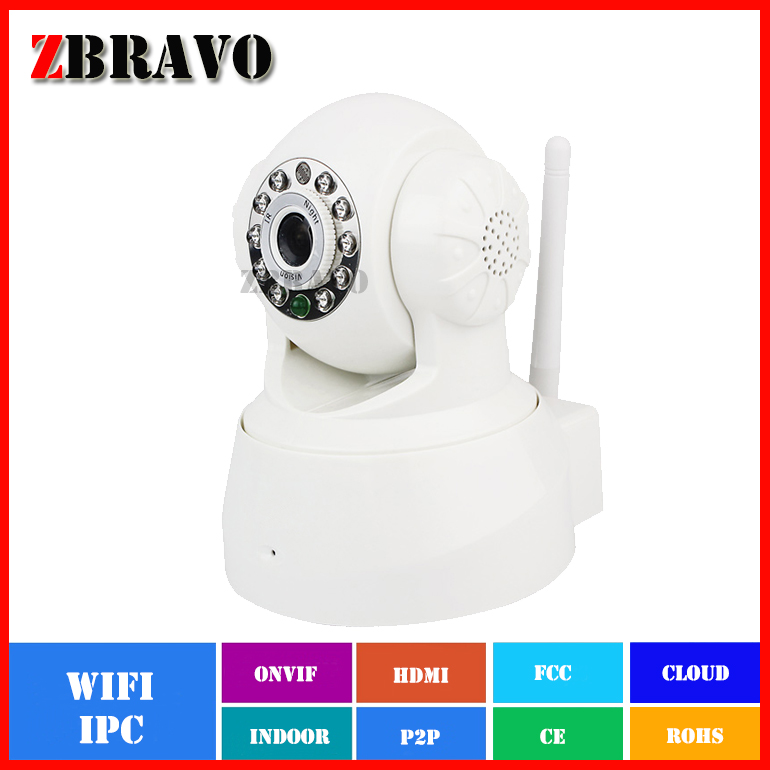 Wireless Wifi IP Camera Built-in Mic P2P Camera Mini Baby Monitor 1.0MP 720P Home Security IP Camera Night Vision With TF Slot<br><br>Aliexpress