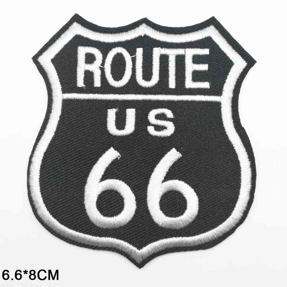 ROUTE US 54 CALIFORNIA EMBROIDERED CLOTH SEW  ON PATCH BADGE JACKET T-SHIRT