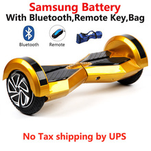 Samsung battery balance hoverboard 8 inch LED light Electric scooter bluetooth oxboard overboard skywalker hover board - MAOBOOS Official Store store