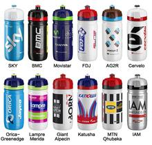 ELITE Bicycle Water Bottle Official World Tour Pro teams bottles BMC SKY FDJ GIANT MERIDA Cervrlo katusha AG2R