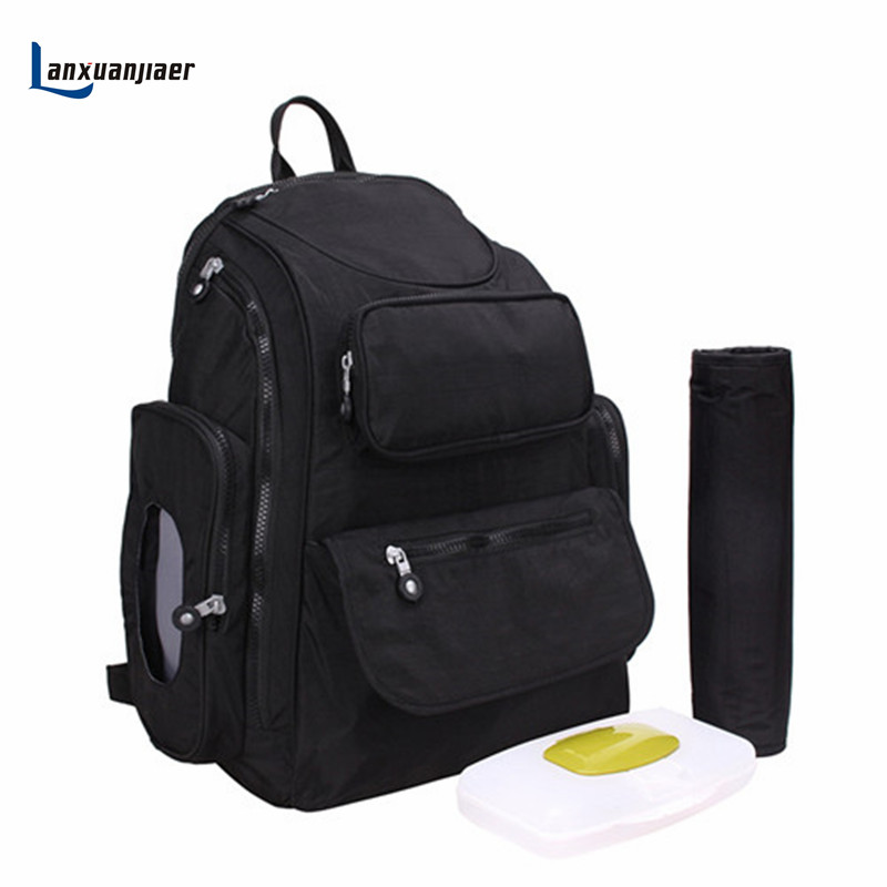 Backpack nappy bag baby diaper bags mommy maternity bag Large capacity multifunctional mummy babies care product free ship<br>
