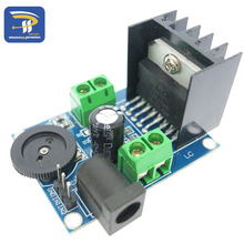 1pcs Audio Power Amplifier board DC 6 to 18V TDA7297 Module Double Channel 10-50W Wholesale