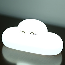 Cloud Shape LED Bulbs Night Light Cute Cloud LED Night Light USB Charging Desktop Lamp Comfortable Decoration Brightness