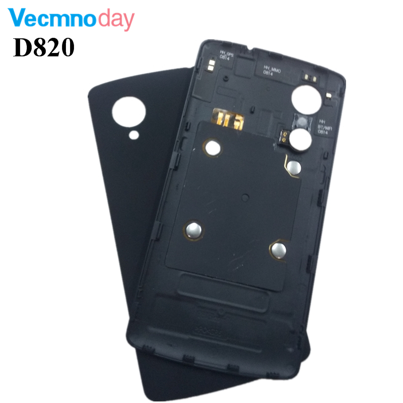 "Vecmnoday 4.95"" LG Google Nexus 5 D820 D821 Back Battery Cover Rear Door Housing Case Replacement Parts NFC"