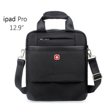 "Tablet PC bag Briefcase for 12.9"" ipad Pro Shoulder Bag Men's Messenger bags 1680D Nylon Waterproof fabric"