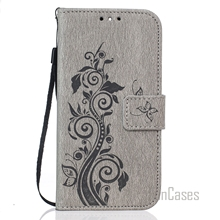 M8 Luxury PU Leather Flip Phone Case Cover For HTC M8 Embossing Wallet Card Slots Stand Case Bag For HTC One M8 Carcasa Capa(China)