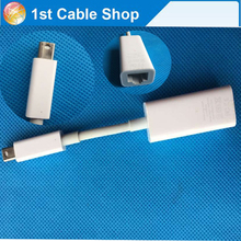 Free shipping&wholesale 1PCS Thunderbolt to Ethernet cable adapter MD463ZM/A A1433 EMC 2590 For Mac Book used(China)