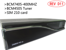 REV D11 BL84 DM800 SE DM800SE DM800HD SE DM 800 HD SE 800SE 800HD SE Satellite CCCAM receiver with 1pcs/HEROBOX(China)