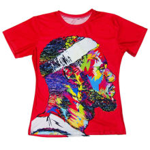 New Fashion 3D Printed T-shirts Men LeBron James Cool Pattern Tie Dye Tee Shirts Red Camisetas Short Sleeve O-Neck Summer Tops(Hong Kong)