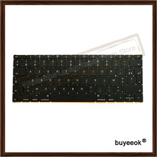 "Genuine Used A1534 UK Spanish French German Russian Layout Keyboard For Apple MacBook Core M 12"" 2016 Year Keyboard Replacement"