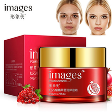 2016 Hot Sale Red Pomegranate Deep Moisture Facial Cream Skin Whitening Nourishing Anti Aging Day Cream Face Care Essence 50g(China)